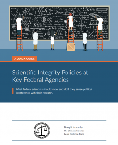 CSLDF scientific integrity guides